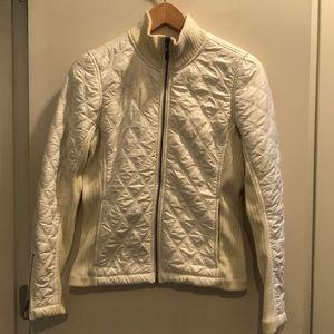 Ivory colored women's Prana jacket